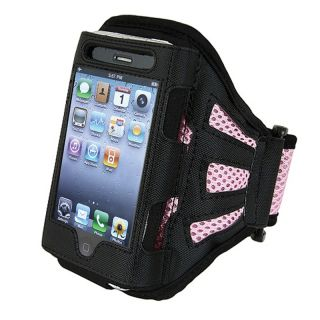 BasAcc Pink Apple iPhone/ iPod Touch Deluxe Armband Case