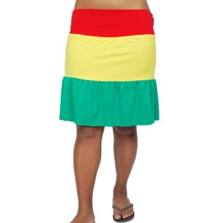 Womens Cotton Short Rasta Skirt (India)