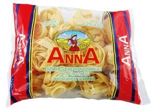 Anna Pappardelle Nest #102, 1 Pound Bags (Pack of 12)