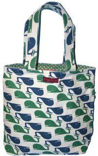 Bungalow360 Eva Whales Vegan Reversible Tote Bag Shoes