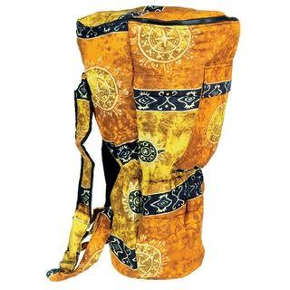 Yellow Celestial Djembe Drum Backpack Bag (Indonesia)