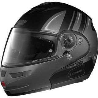 Nolan N 103 Helmet   Flat Black/Silver    Automotive