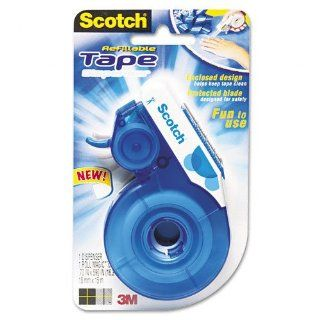 Scotch Enclosed Design Desktop Squeeze Tape Dispenser, 1