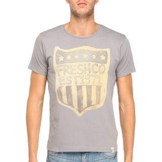 FRESH BRAND T Shirt Homme Gris Gris   Achat / Vente T SHIRT FRESH