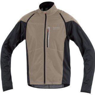 Gore Bike Wear Mens ALP X ZIP OFF Jacket, Small, Earth