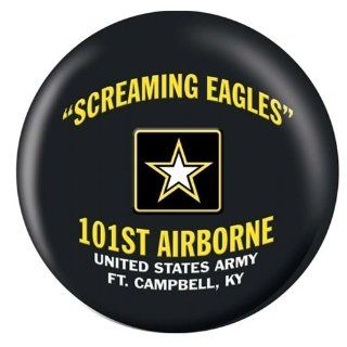 US 101st Airborne Screamin Eagles Bowling Ball Sports