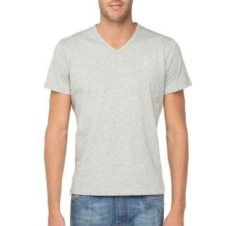 DIESEL T Shirt Asno Homme Gris chiné   Achat / Vente T SHIRT DIESEL T