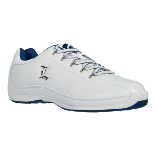 Lugz Mens Reverb White/ Blue Athletic Sneakers