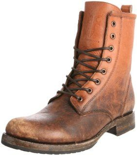 FRYE Womens Veronica Combat Boot Shoes