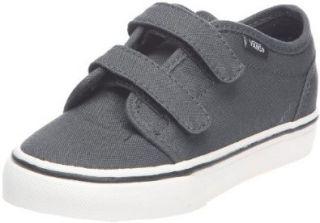 Vans Boys 106 V , Dark Shadow/Black 3.5 Youth Shoes