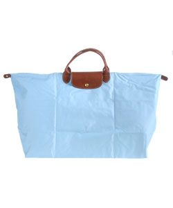 Longchamp Blue Large Folding Tote
