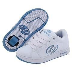 Heelys Glitter (Youth/Adult) White/Light Blue Athletic