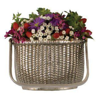 Nantucket Basket Door Knocker Nickel Silver