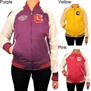 Hudson Outerwear Womens Plus size Cotton Varsity Jacket