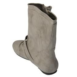 Journee Collection Womens Buckle Accent Mid calf Boots