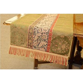 Woven Floral 60 inch Table Runner
