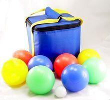 Playaboule Glo Lighted 107mm Bocce Ball Set Sports