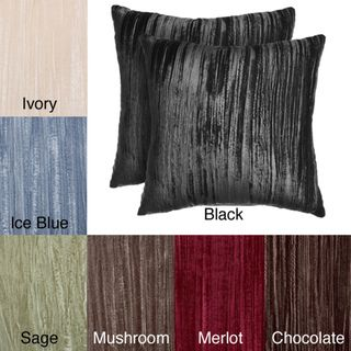 Aretha Crushed Velvet Pillows (Set of 2)