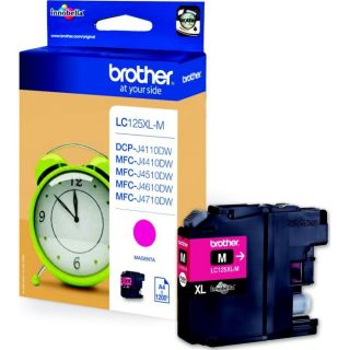 Brother LC125XLM   Achat / Vente CARTOUCHE IMPRIMANTE Brother LC125XLM
