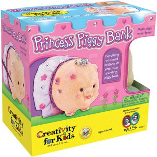 Creativity For Kids Princess Piggy Bank Kit