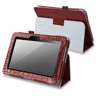 BasAcc Brown Leather Case with Stand for  Kindle Fire 7 inch