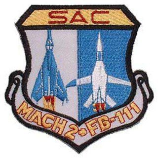 U.S. Air Force SAC Mach 2 FB 111 Patch 3 Patio, Lawn & Garden