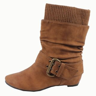 Blossom by Beston Womens Amar 24 Mid calf Boots