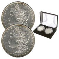 First & Last Morgan Silver Dollars