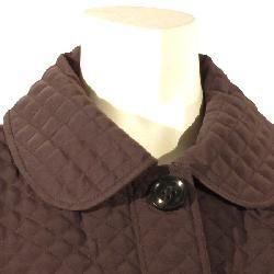 Esprit Womens Shirt collar Button front Quilted Barn Jacket