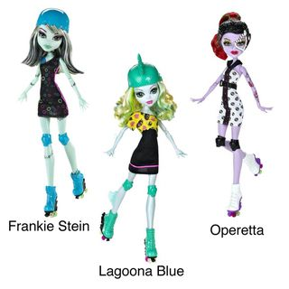 Monster High Roller Maze 5.5 inch Doll