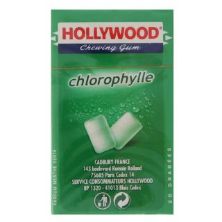 HOLLYWOOD Chlorophylle   Achat / Vente CONFISERIE DE SUCRE HOLLYWOOD