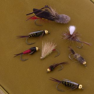 Rocky Mountain Special 64 piece Fly Set with free nipper
