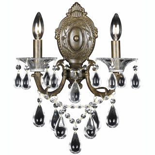 Renaissance 2 Light English Bronze Wall Sconce
