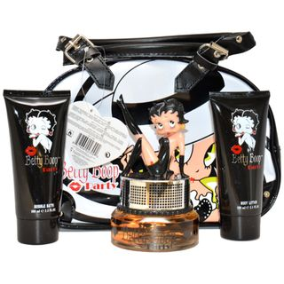 Betty Boop Party Womens 4 Piece Gift Set