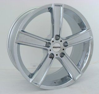 17x8 MOMO Strike (Chrome) Wheels/Rims 5x114.3 (SK80751438C)