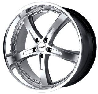 TSW Alloy Wheels Jarama Hyper Silver Machined Wheel (17x8/5x114.3mm