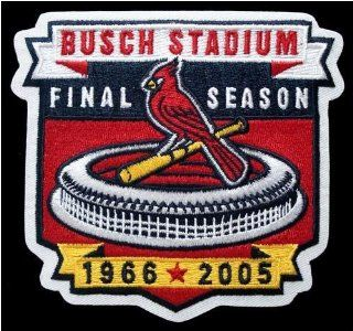 MLB Logo Patch   Cardinals Busch Stadium Sports