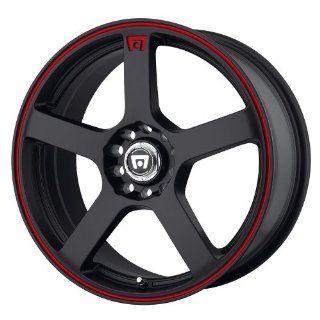 Motegi MR116 18x8 Black Wheel / Rim 5x105 & 5x4.5 with a 45mm Offset