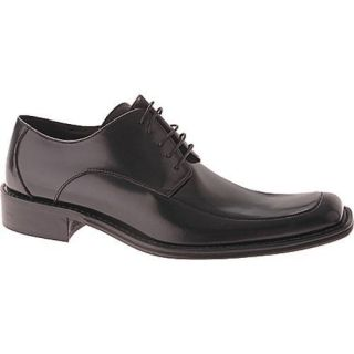 Mens Kenneth Cole New York Town Hall Black Leather