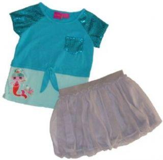 Lalaloopsy Lalaoopsies Mermaid Girls Shirt and Bubble