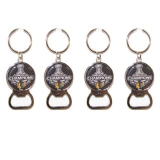 Chicago Blackhawks Stanley Cup Champion Key Chains (Set of 4