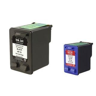 HP 21/ 22 Black/ Color Ink Cartridge (Remanufactured)