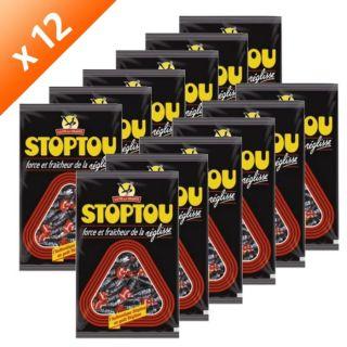 STOPTOU Réglisse 450g x12   Achat / Vente CONFISERIE DE SUCRE STOPTOU
