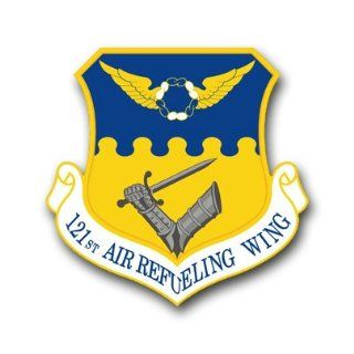 US Air Force 121st Air Refueling Wing Decal Sticker 5.5
