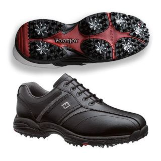FootJoy GreenJoy Black/ Grey Golf Shoes