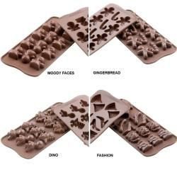 Silikomart Platinum Food Grade Silicone Chocolate Mold