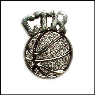 CTR Tie Tac (Basketball) in Black Velvet Gift Box Jewelry
