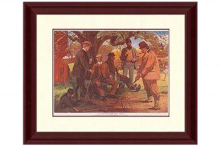 The Old Apple Tree Gang Framed Print Art
