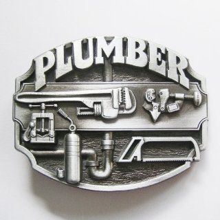 NEW FASHION Western Plumber TOOL Belt Buckle WT 123AS