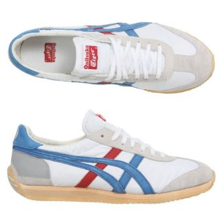 ONITSUKA TIGER Baskets California 78 OG Homme Blanc, rouge, bleu et